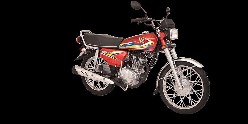 Cg125 Red Atlas Honda
