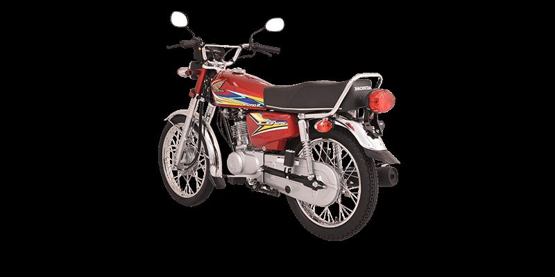 CG125 Red - Atlas Honda