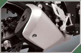 Elegant Muffler Design with 3-Way Catalytic Converter