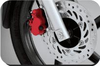 Powerful Front Disk Brake