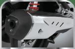 Stylish & Aerodynamic Muffler Exhaust