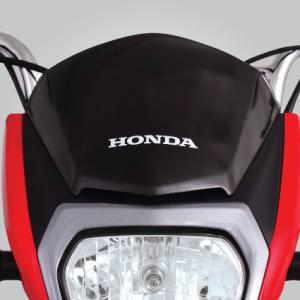 New sporty detachable visor