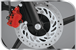 Powerful Front Disk Brake